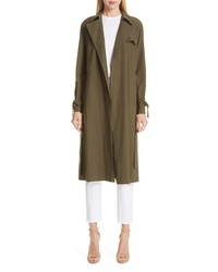 Harris Wharf London Raglan Trench Coat