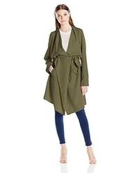 Kensie Soft Trench Coat