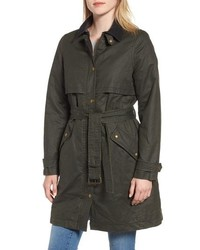 Joules Waxed Trench Coat