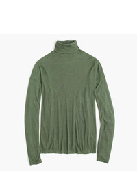 J crew 10 percent deck turtleneck medium 966395