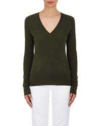 Cashmere v neck sweater medium 1159881