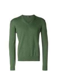 Loro Piana Fine Knit V Neck Sweater