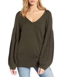Francesca v neck sweater medium 5256066