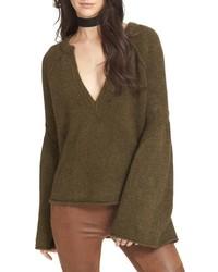 Lovely lines bell sleeve sweater medium 834595