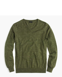 Rugged cotton v neck sweater medium 790118