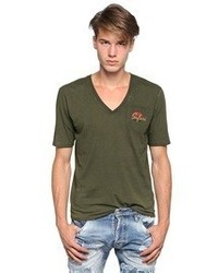 DSquared Cotton Jersey D2 Safari T Shirt
