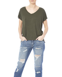 Heart Hips Perfect V Neck Tee