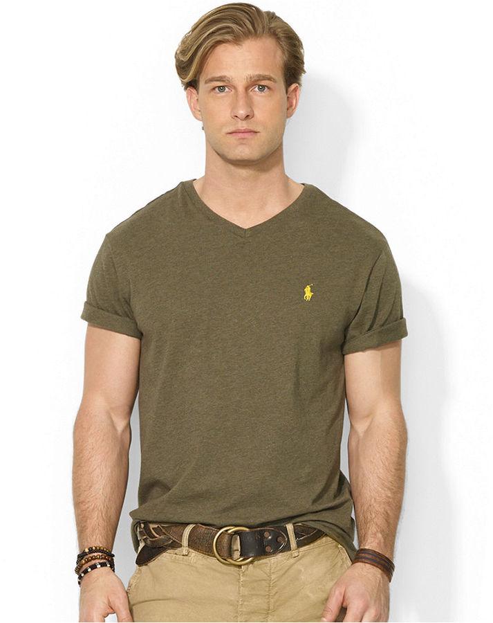 e2e56b7b3147 ... Polo Ralph Lauren Jersey V Neck T Shirt ...