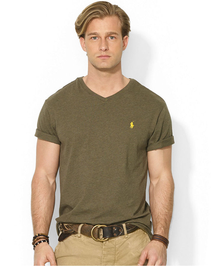 Polo Ralph Lauren Jersey V Neck T Shirt Where To Buy