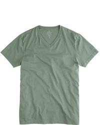 Slim broken in v neck t shirt medium 585230