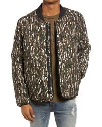 Topman Camouflage Er Jacket