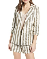 CHRISELLE LIM COLLECTION Chriselle Lim Cherie Stripe Blazer