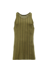 Haider Ackermann Striped Tank Top