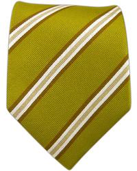 The Tie Bar Pulsar Stripe Olive