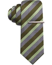 Alfani Spectrum Jerry Stripe Slim Tie