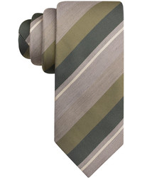 Alfani Spectrum Mckinley Stripe Slim Tie Only At Macys