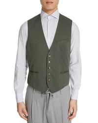 Eleventy Stretch Cotton Vest