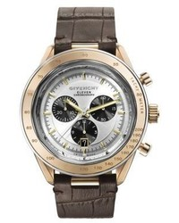 Givenchy Eleven Rose Gold Plated Stainless Steel Chronograph Watch