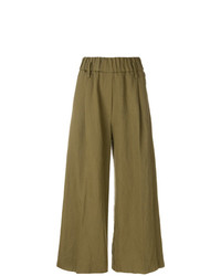 Embroidered flared trousers medium 8082700