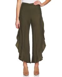 1 STATE Ruffle Wide Leg Pants