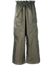 MM6 MAISON MARGIELA Wide Leg Cargo Trousers