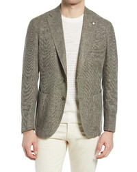 L.B.M. 1911 Modern Fit Melange Wool Blend Sport Coat