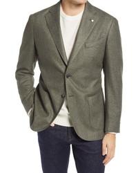L.B.M. 1911 Slim Fit Wool Blend Blazer
