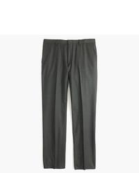 J.Crew Ludlow Suit Pant In Heathered Italian Wool Flannel