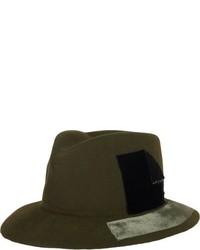 Olive Wool Hat