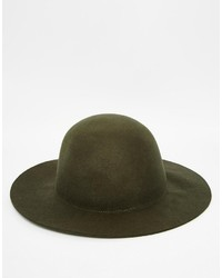 Asos Brand Bee Keeper Hat In Khaki With Unstructured Brim