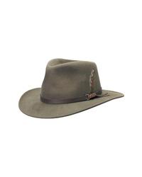 Scala Classico Crushable Felt Outback Hat