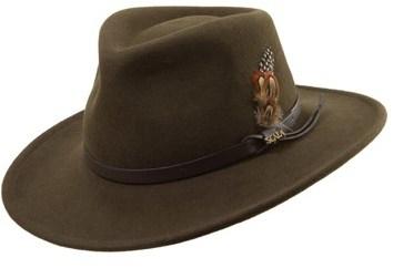 6f66b9d19152f ... Scala Classico Crushable Felt Outback Hat ...