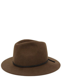 Brixton Wesley Wool Brim Hat