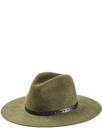 Wool wide brim fedora medium 725480