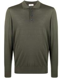 Z Zegna Fine Wool Polo Shirt