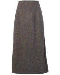 Maison Margiela Tweed Style Skirt