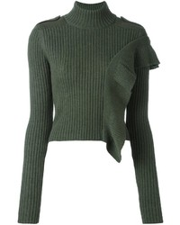 EACH X OTHER Ruched Turtleneck Jumper