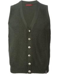 Jacob cohen sleeveless cardigan medium 331212