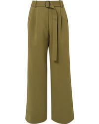 Sies Marjan Blanche Wool Canvas Pants