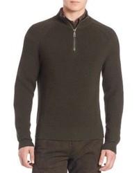 Polo Ralph Lauren Half Zip Moto Sweater