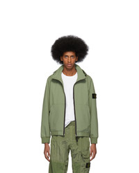 Stone Island Green Light Soft Shell R Jacket
