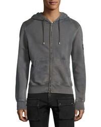 Belstaff Hawkestone Zip Front Sweatshirt
