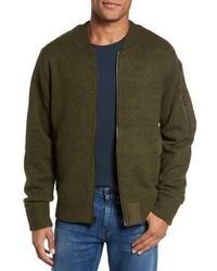 Schott NYC Ma 1 Sweater Jacket