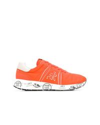 White Premiata Matthew Sneakers