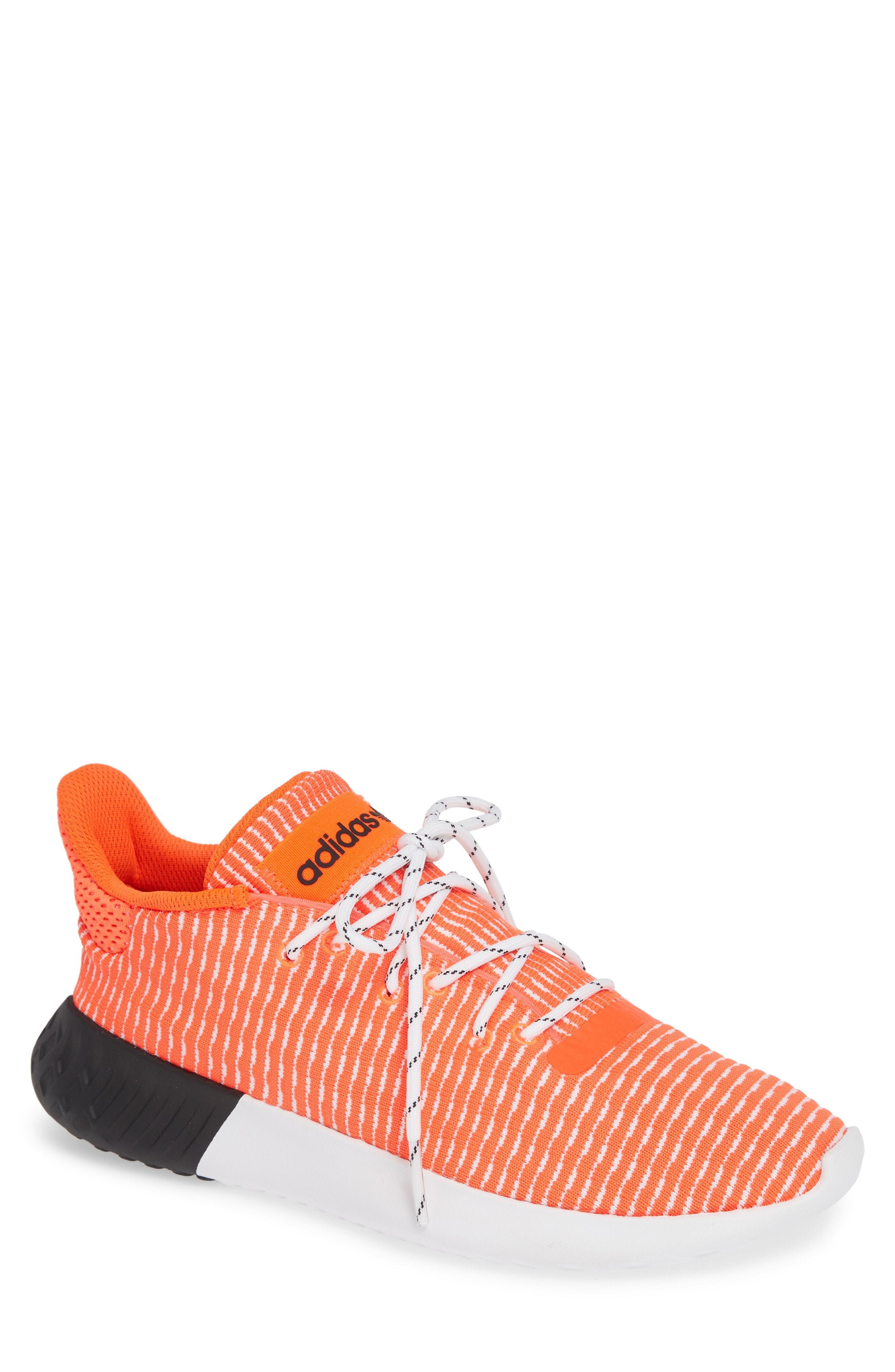 f0b05a5e18d ... Orange Athletic Shoes adidas Tubular Dusk Primeknit Sneaker