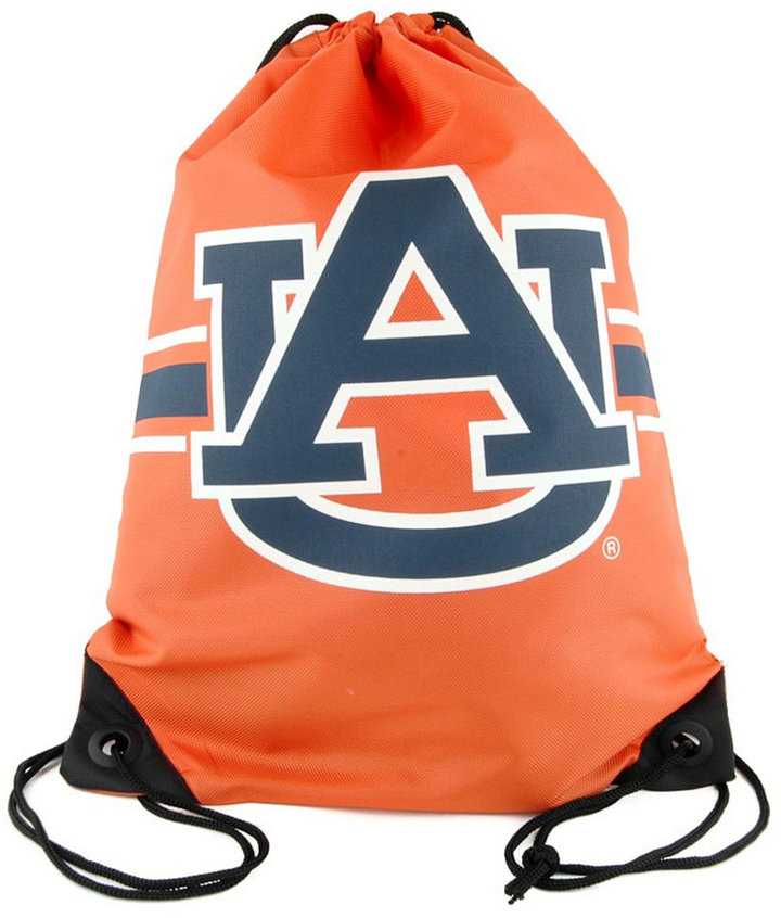 Forever Collectibles Auburn Tigers Team Stripe Drawstring Bag ...