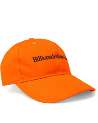 Billionaire Boys Club Logo Embroidered Cotton Twill Baseball Cap