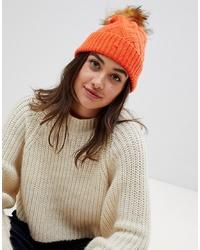 Boardmans Beanie Hat With Faux
