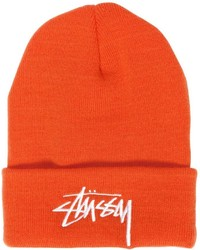 Stussy embroidered logo beanie hat medium 822797