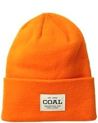 Coal The Uniform Fine Knit Workwear Cuffed Beanie Hat